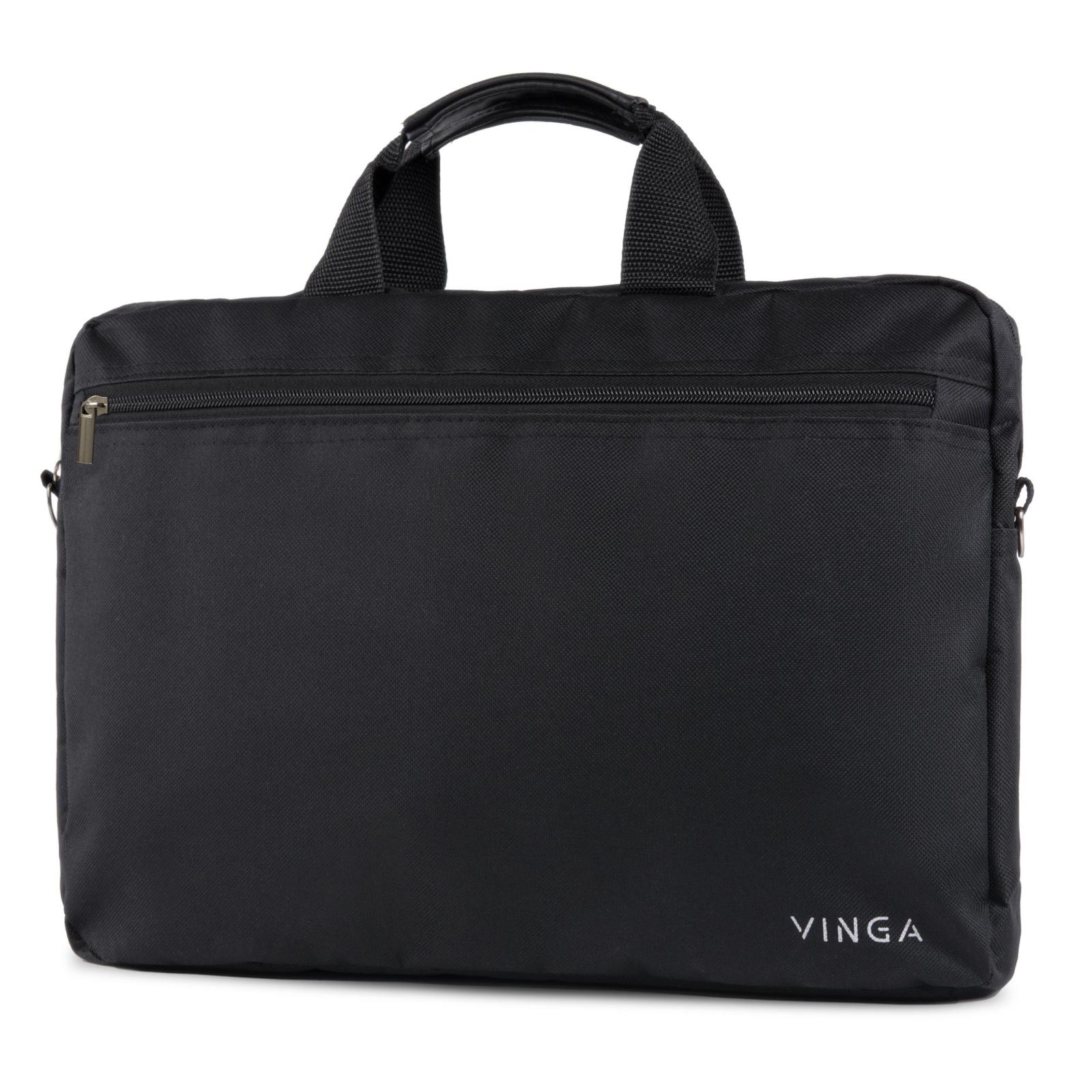"""Сумка для ноутбука Vinga 15.6"""" NB110RD red (NB110RD) изображение 2"""