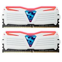 Модуль памяти для компьютера DDR4 16GB (2x8GB) 2400 MHz Super Luce White GEIL (GLWR416GB2400C16DC)