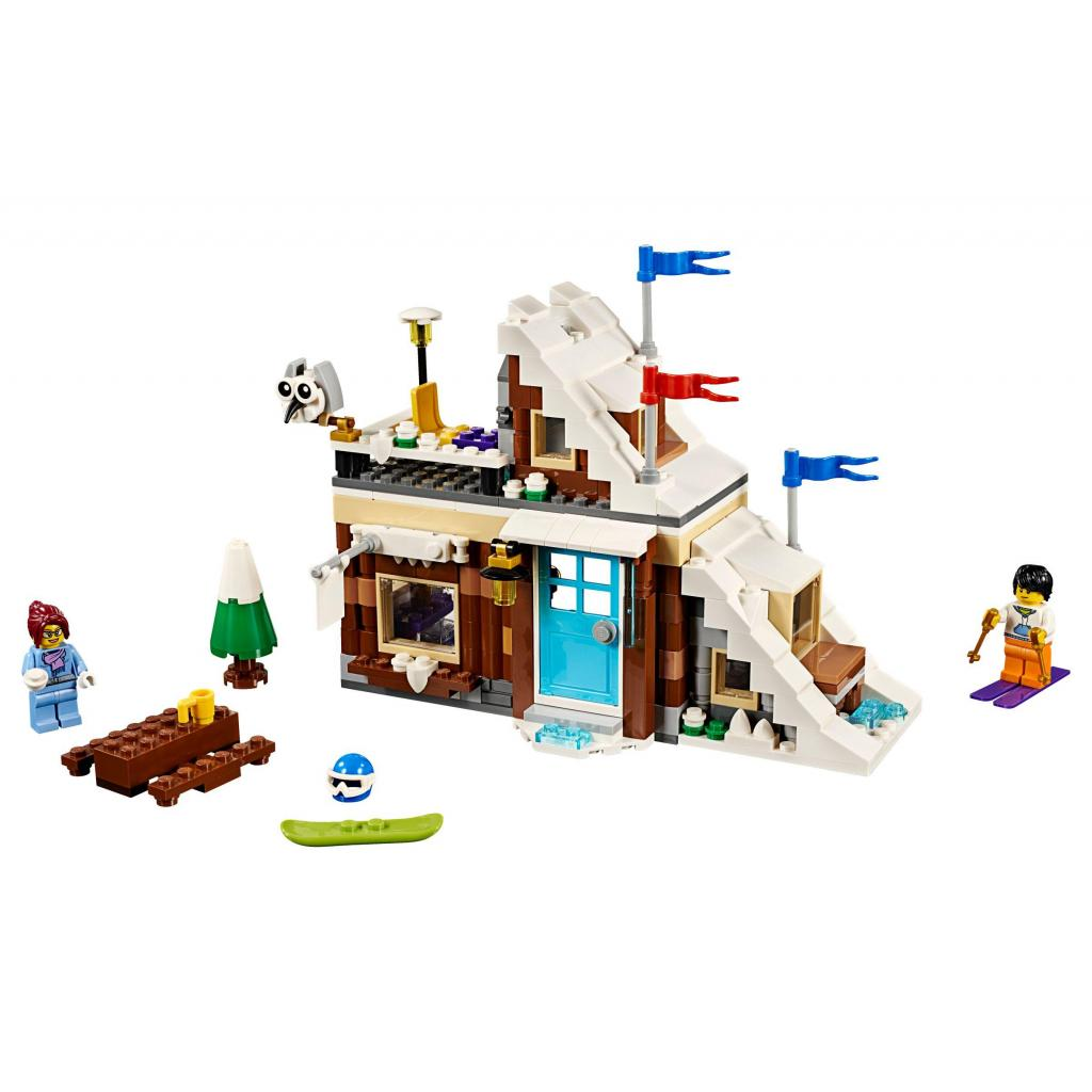 Конструктор LEGO Creator Модульный набор Зимние каникулы (31080) изображение 2