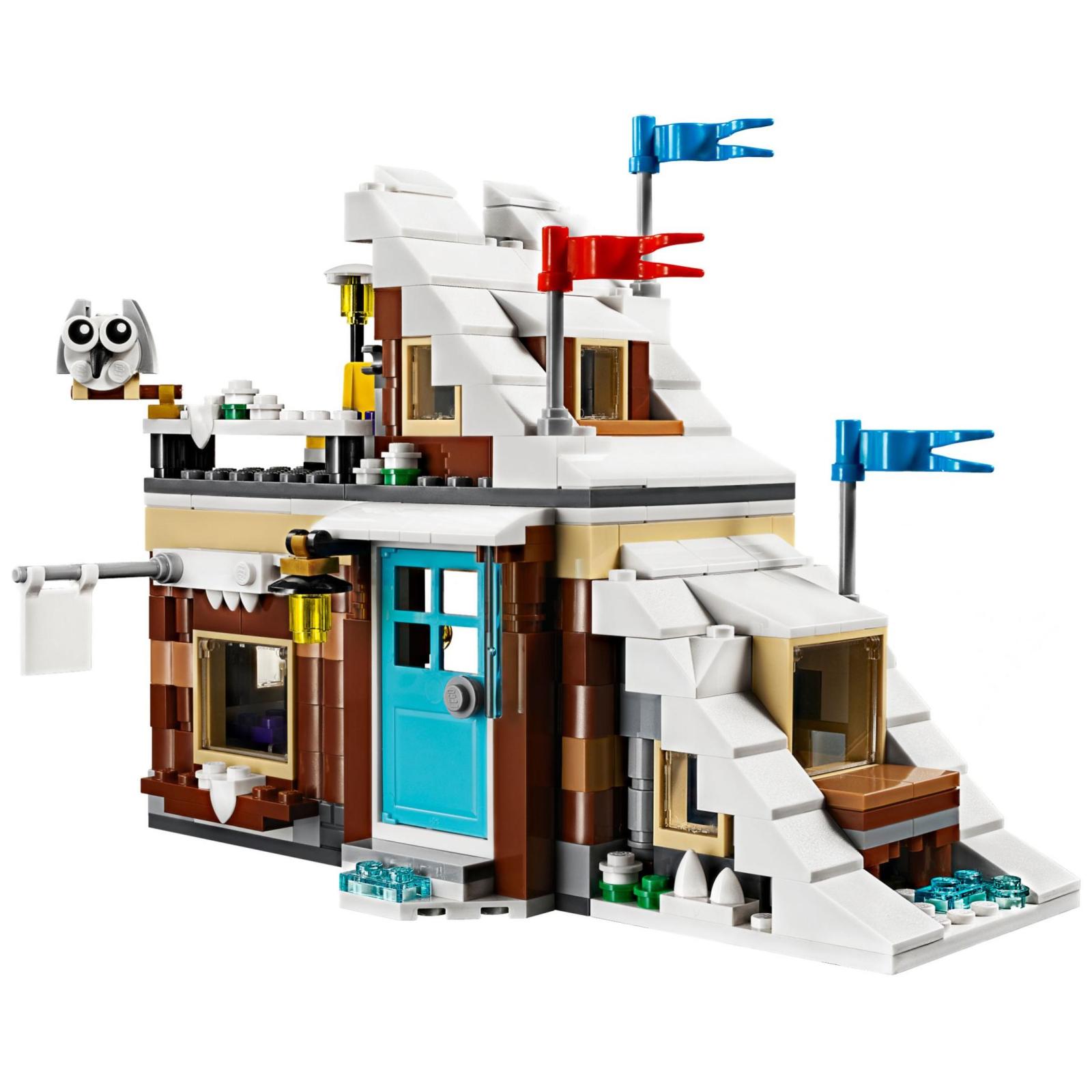 Конструктор LEGO Creator Модульный набор Зимние каникулы (31080) изображение 3