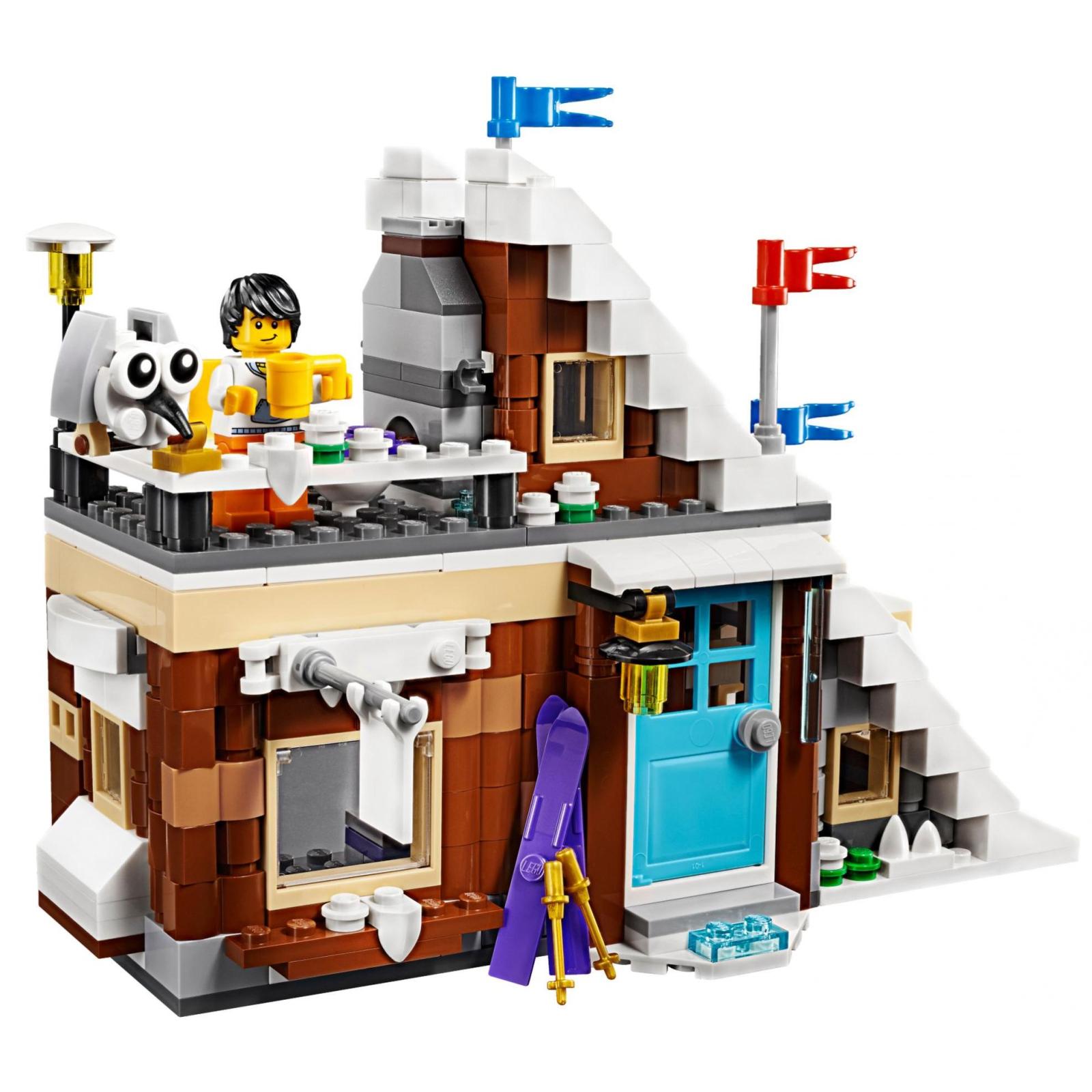 Конструктор LEGO Creator Модульный набор Зимние каникулы (31080) изображение 4