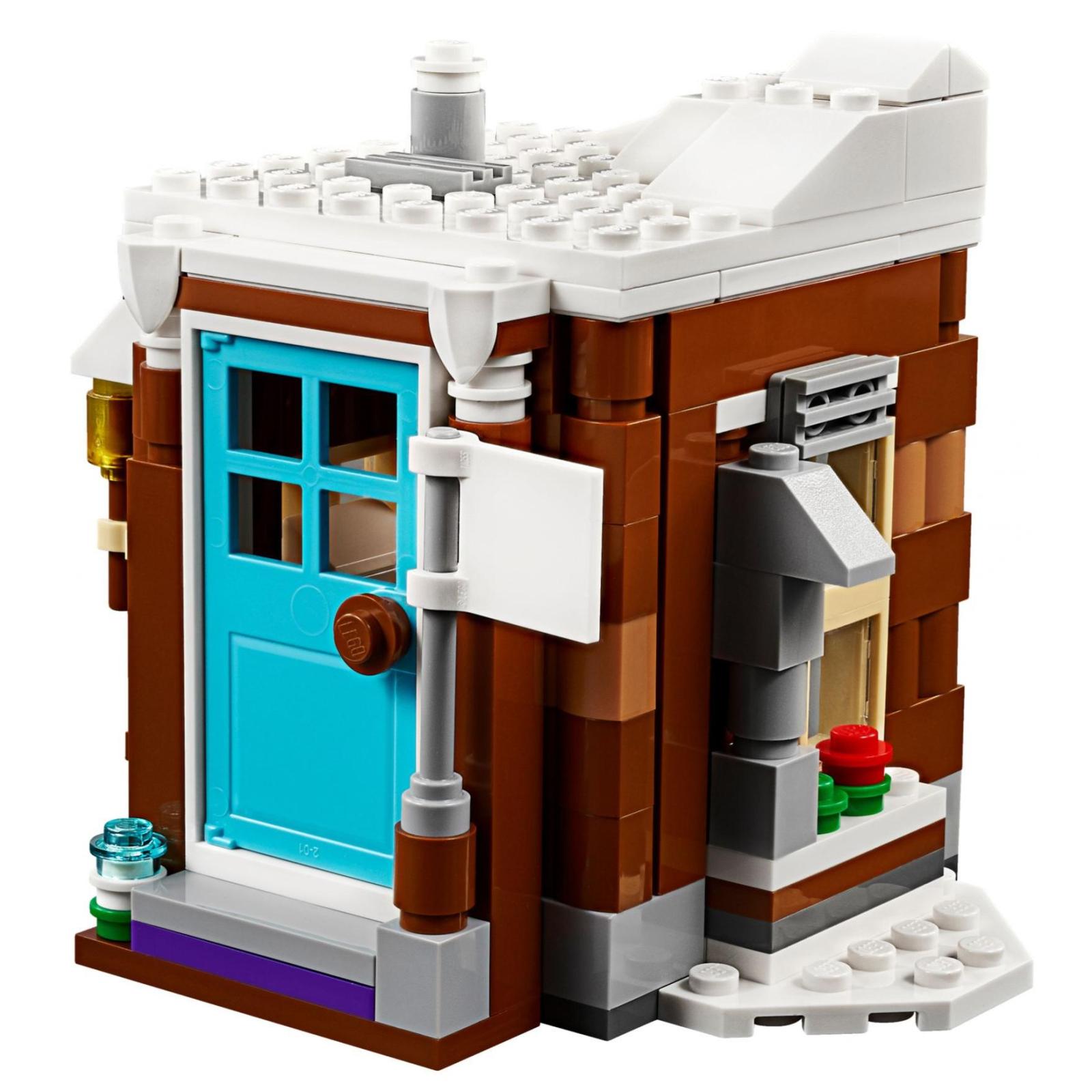 Конструктор LEGO Creator Модульный набор Зимние каникулы (31080) изображение 5