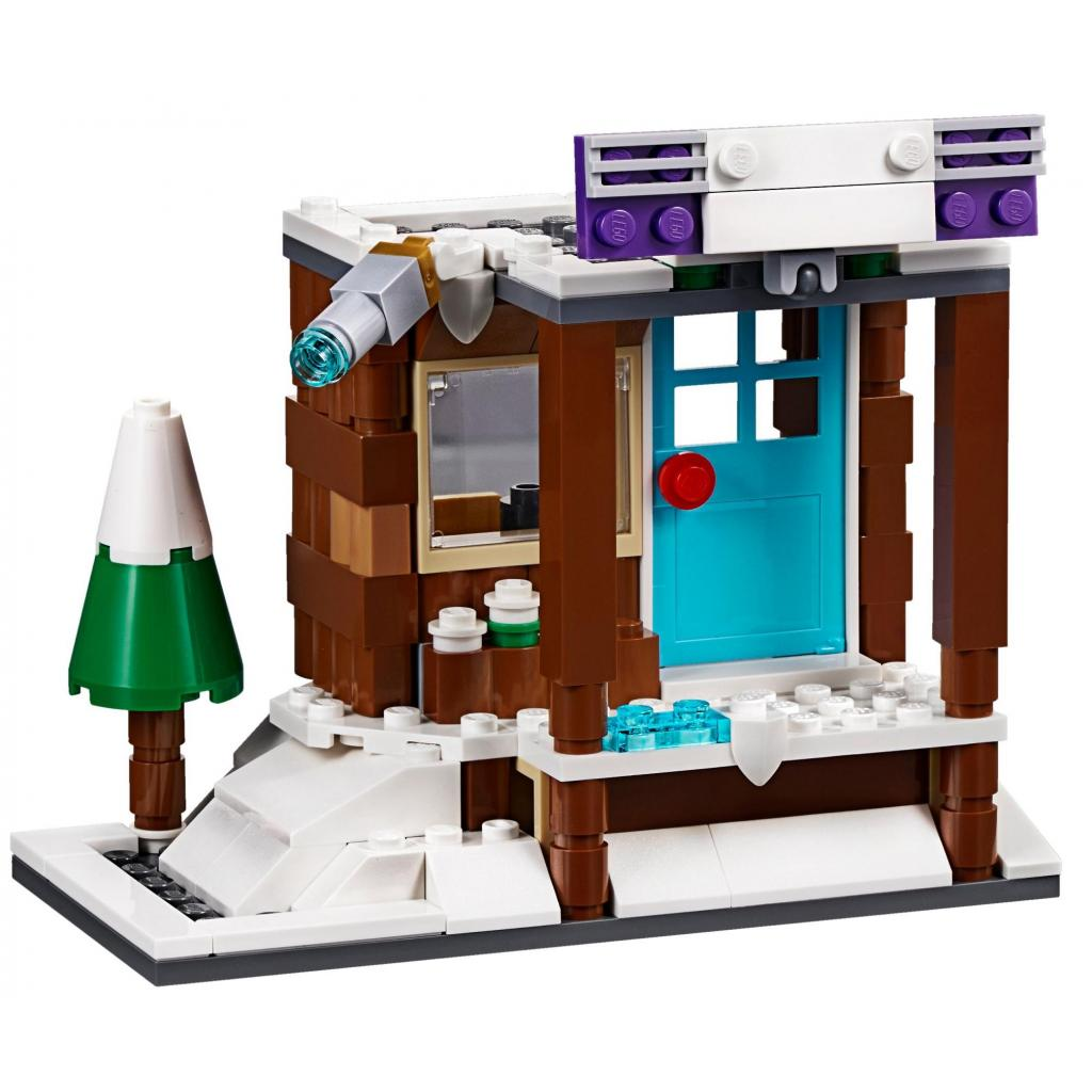 Конструктор LEGO Creator Модульный набор Зимние каникулы (31080) изображение 7
