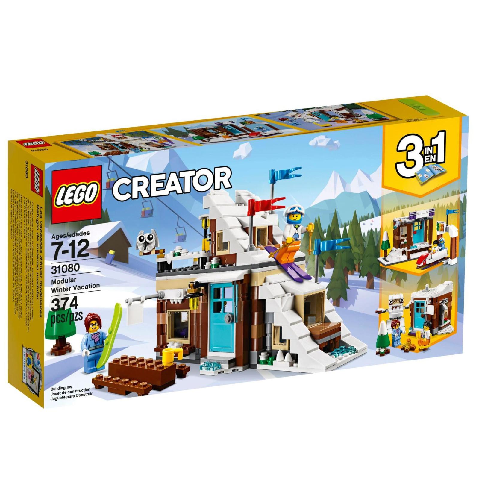 Конструктор LEGO Creator Модульный набор Зимние каникулы (31080)