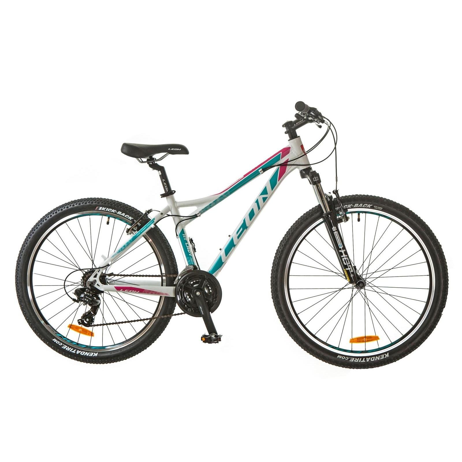 "Велосипед Leon 26"" HT-LADY 2018 AM 14G Vbr рама-18"" Al аквамарин (OPS-LN-26-035)"