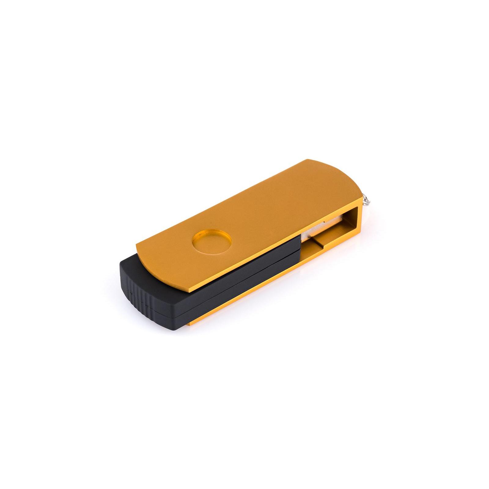 USB флеш накопитель eXceleram 16GB P2 Series Gold/Black USB 3.1 Gen 1 (EXP2U3GOB16) изображение 6