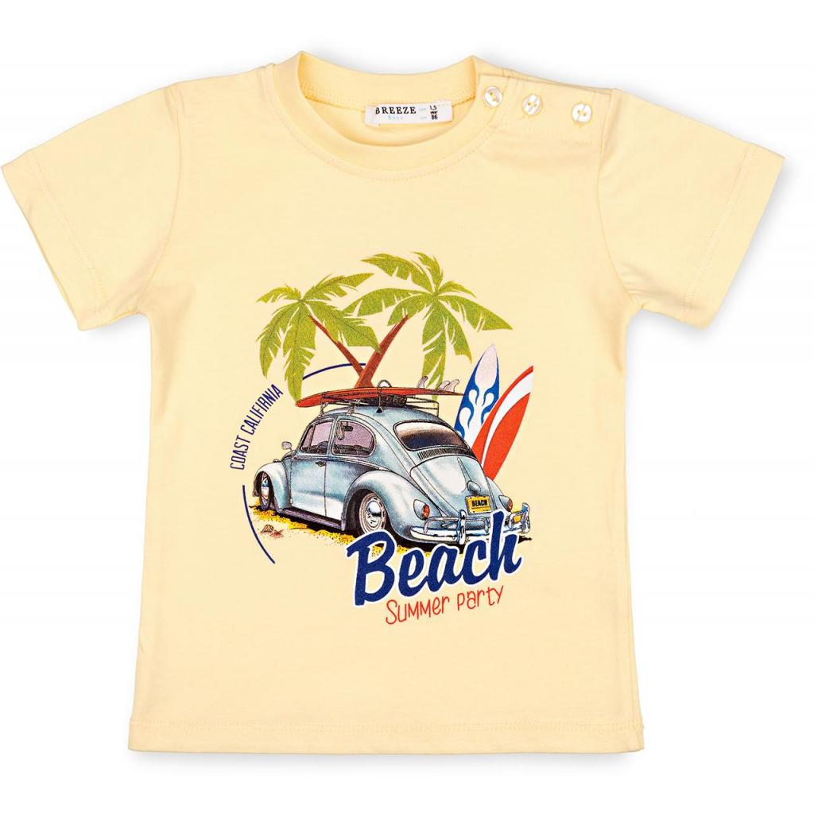 Набор детской одежды Breeze с машинкой (10940-110B-yellow) изображение 2