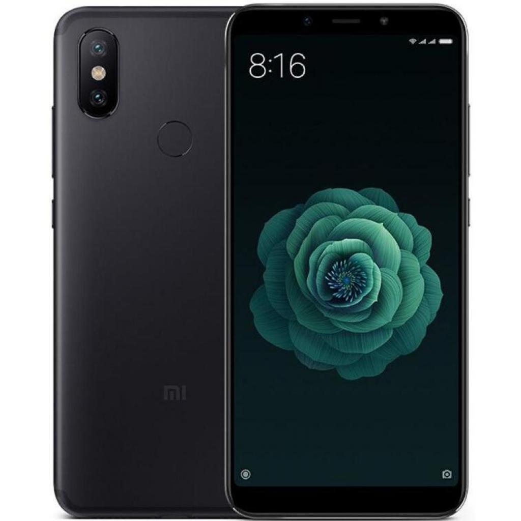 Мобильный телефон Xiaomi Mi A2 4/64 Black изображение 9