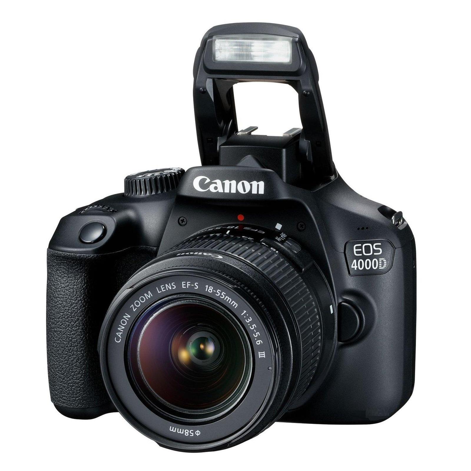Цифровой фотоаппарат Canon EOS 4000D 18-55 DC III kit (3011C004) изображение 2