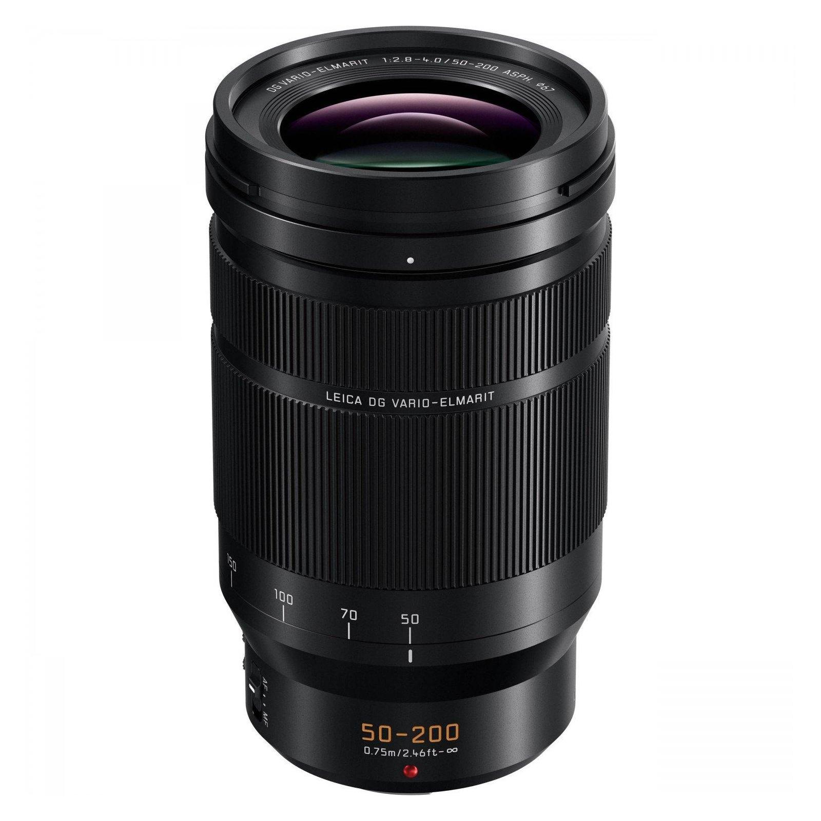 Объектив PANASONIC Micro 4/3 Lens 50-200 mm f/2.8-4 ASPH. POWER O.I.S. Leica DG (H-ES50200E)