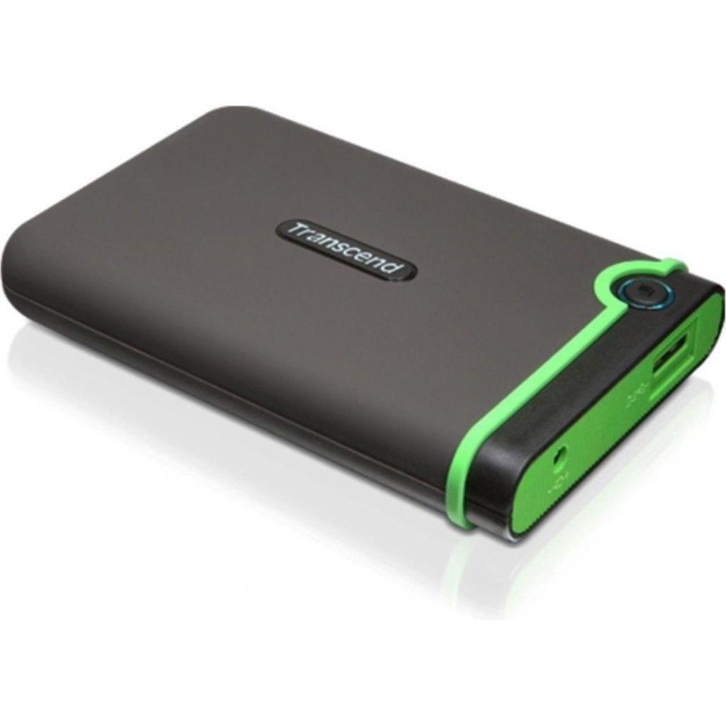 """Внешний жесткий диск 2.5"""" 500GB Transcend (TS500GSJ25M3S) изображение 2"""