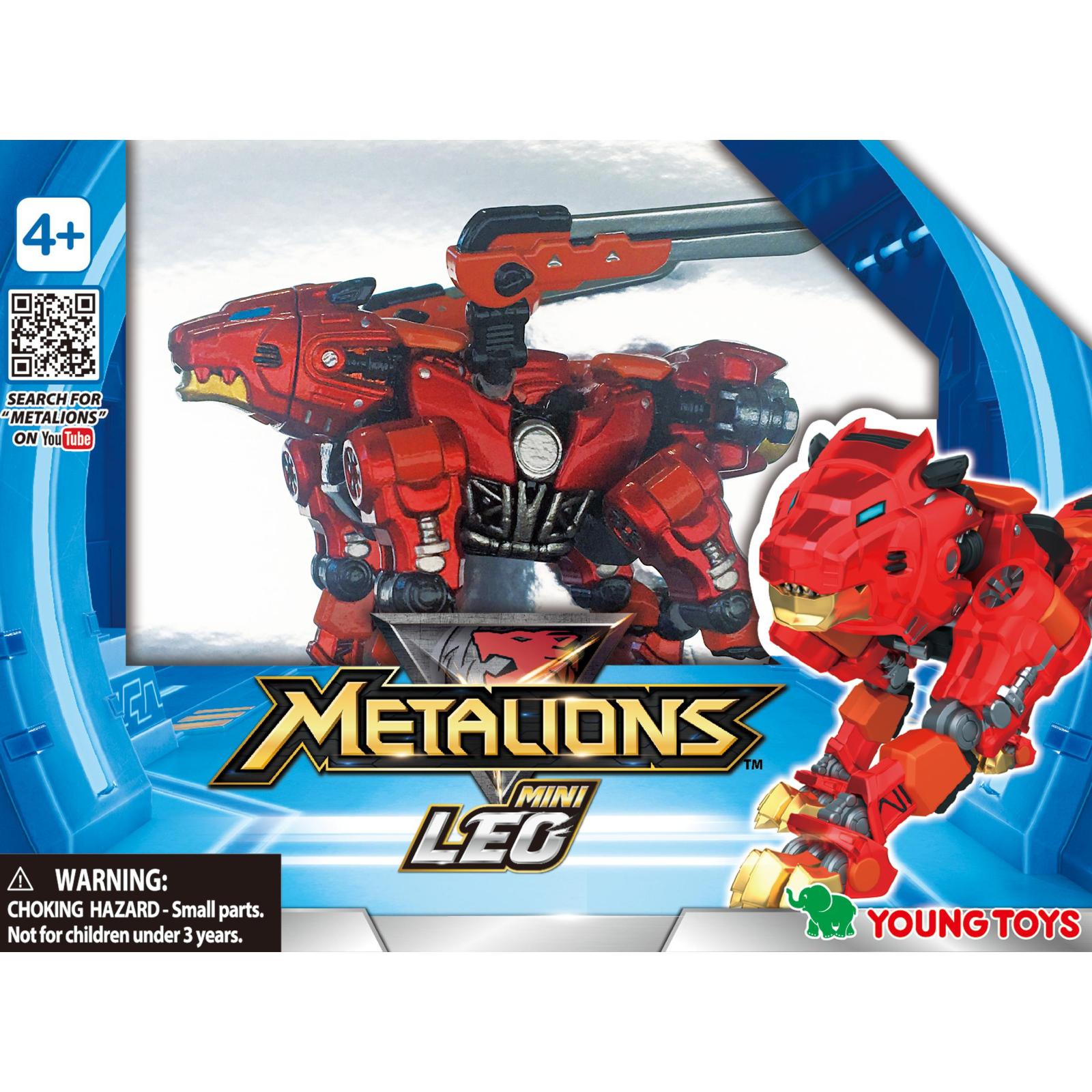 Трансформер Metalions мини Лео (314036) изображение 2