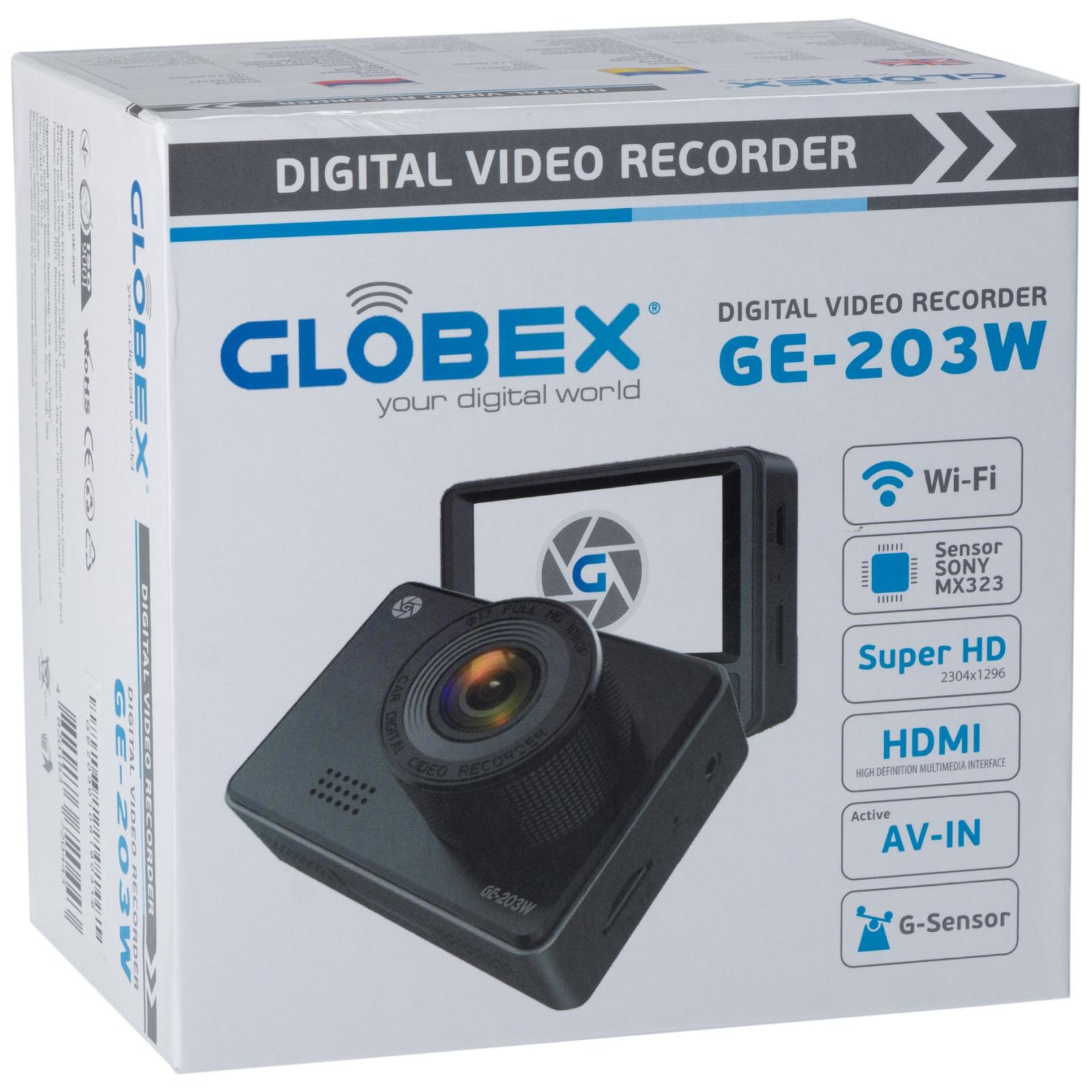 Видеорегистратор Globex GE-203w изображение 9