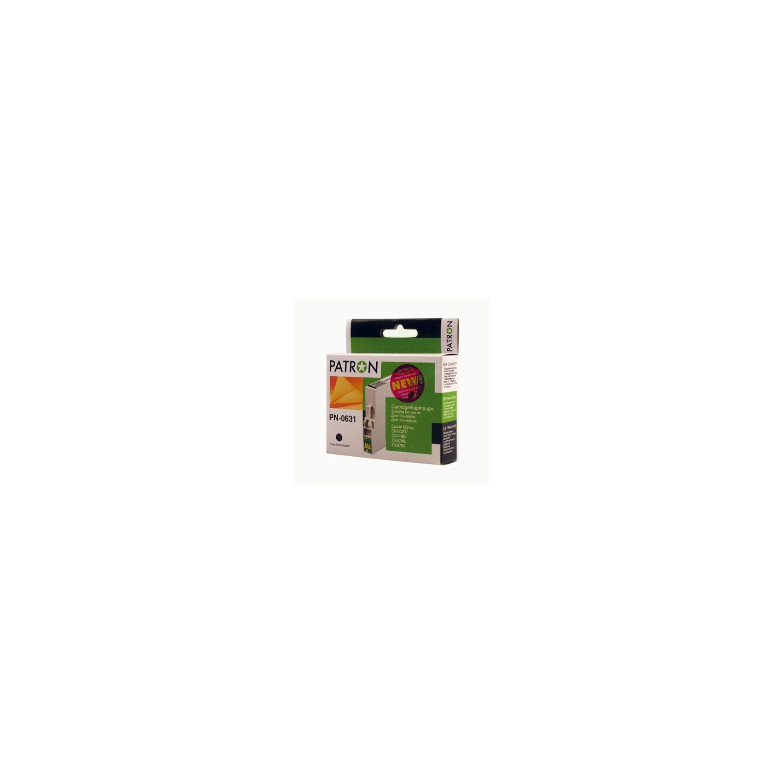 Картридж PATRON для Epson StC67/87 CX3700/4100 blac (CI-EPS-T06314A-B-PN)