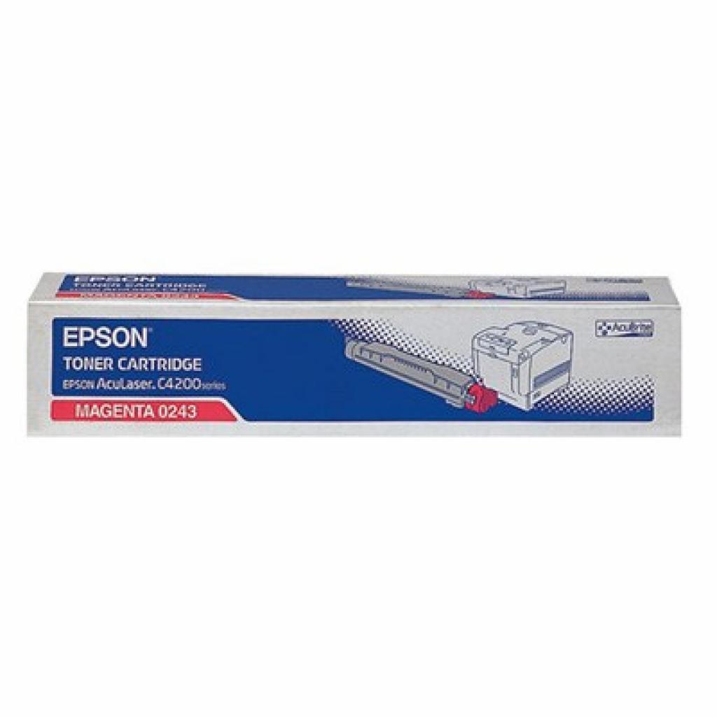 Картридж EPSON AcuLaser C4200DN magenta (C13S050243)