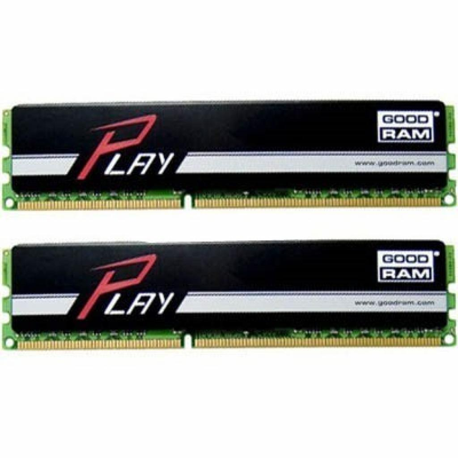 Модуль памяти для компьютера DDR3 8GB (2x4GB) 1600 MHz GOODRAM (GR1600D364L9/8GDC)
