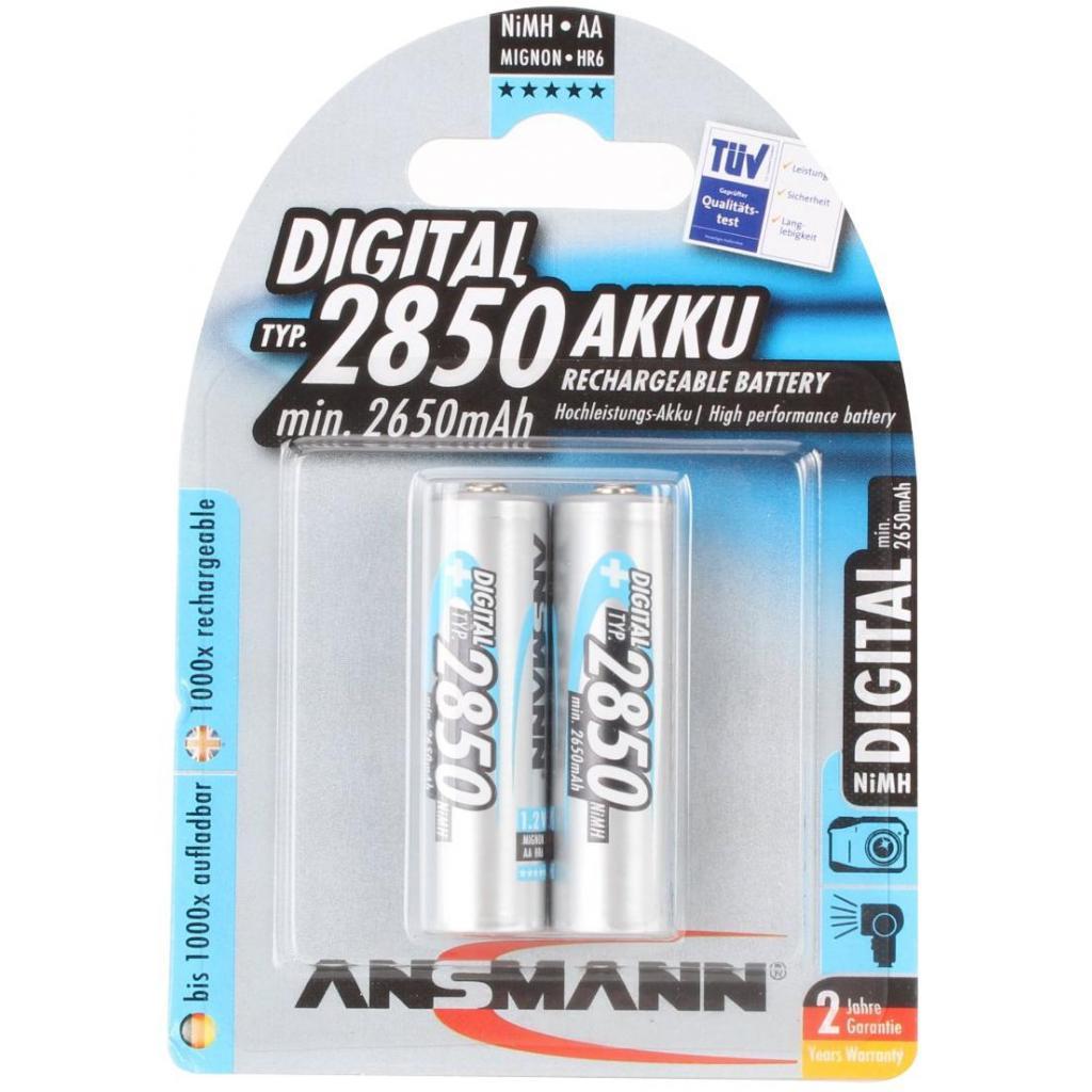 Аккумулятор AA R6 2850 mAh Digital * 2 Ansmann (5035082 / 5035202)