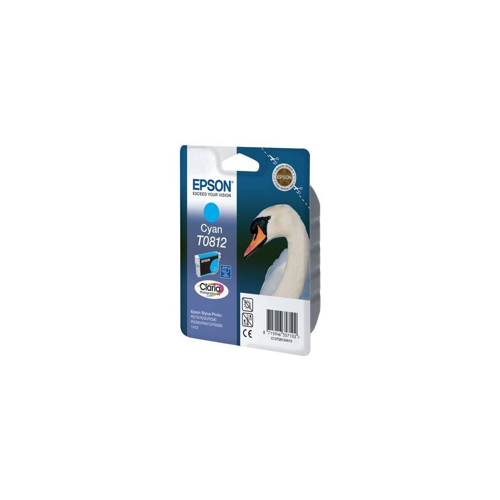 Картридж EPSON R270/290 RX590/610/690/1410 Cyan (C13T08124A/C13T11124A10)
