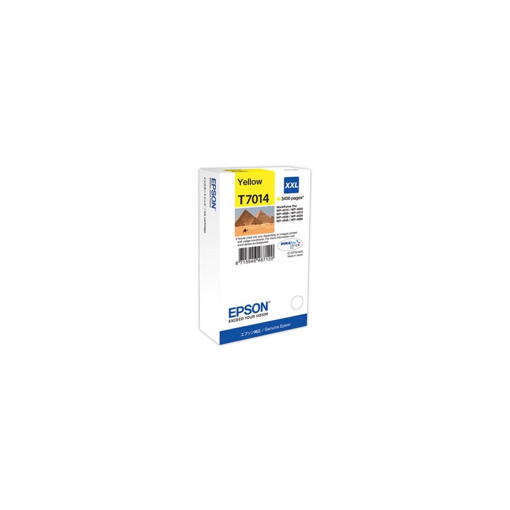 Картридж EPSON WP 4000/ 4500 XXL yellow 3.4k (C13T70144010)