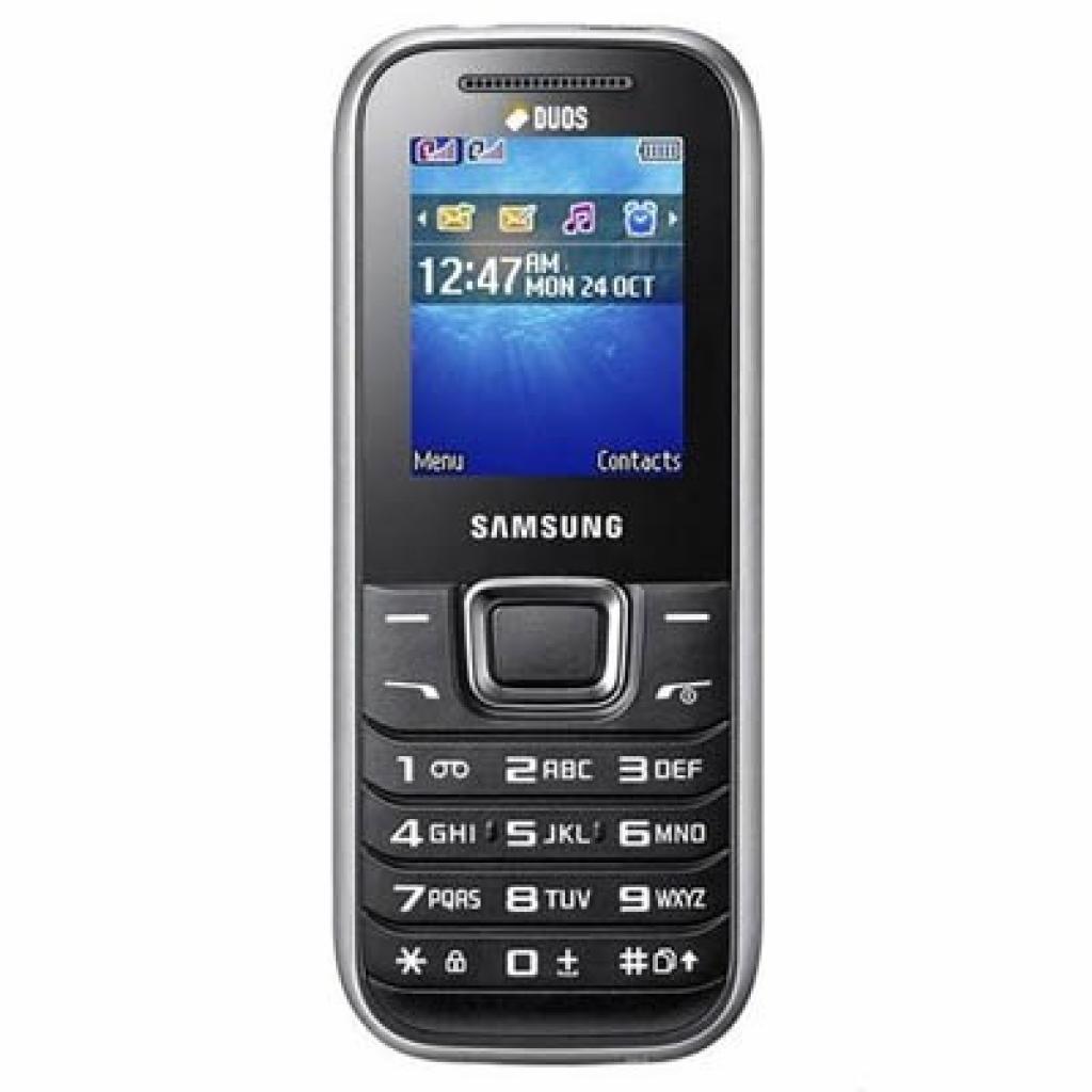Мобильный телефон Samsung GT-E1232 Titanium Silver (GT-E1232TSBSEK)