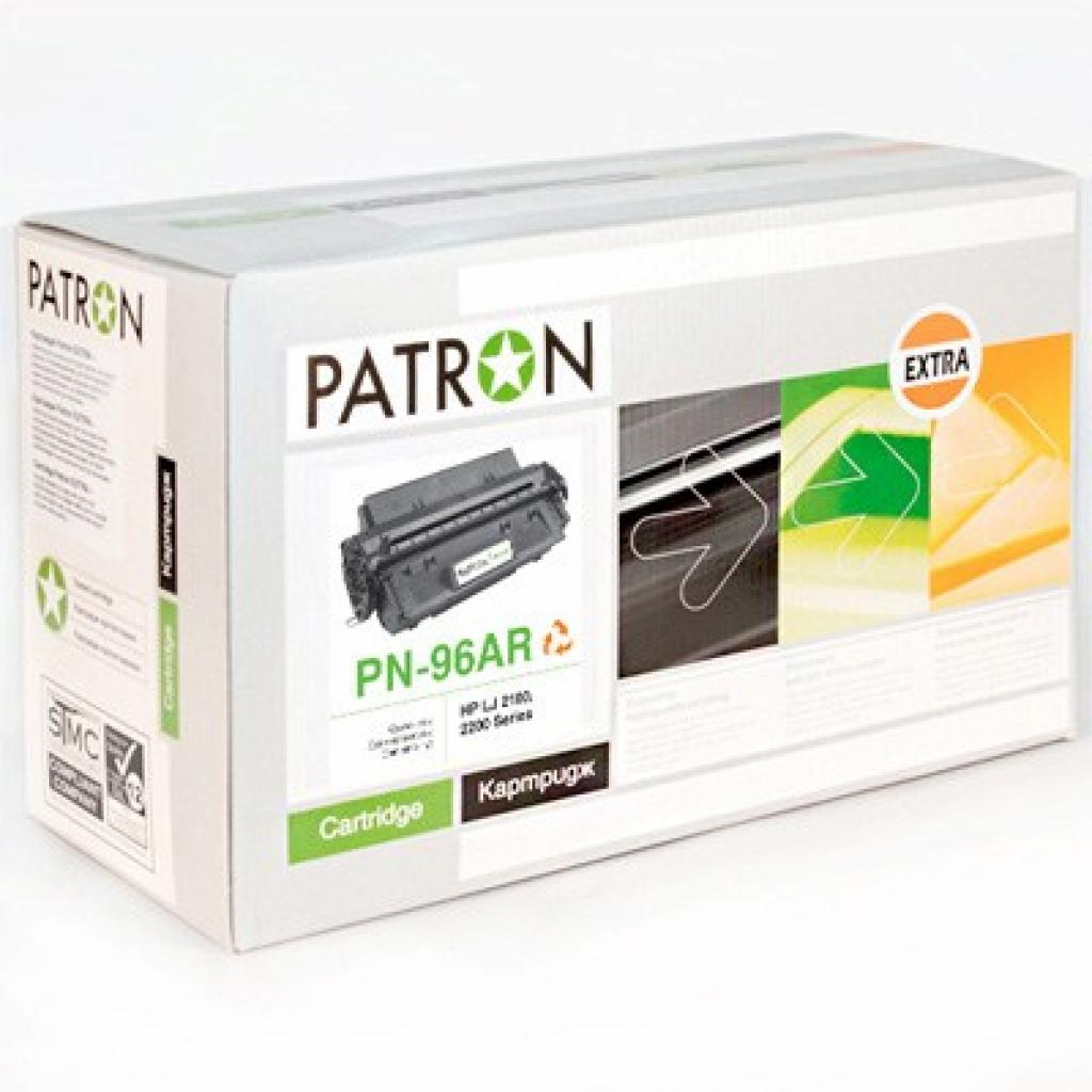 Картридж PATRON HP LJ2100/2200 Extra (PN-96АR) (CT-HP-C4096A-PN-R)