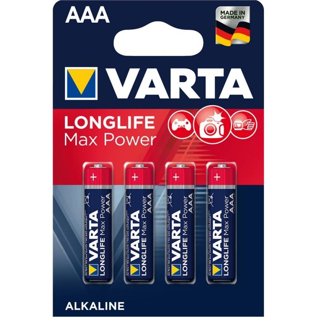 Батарейка Varta AAA Longlifi Max Power Alkaline * 4 (4703101404)