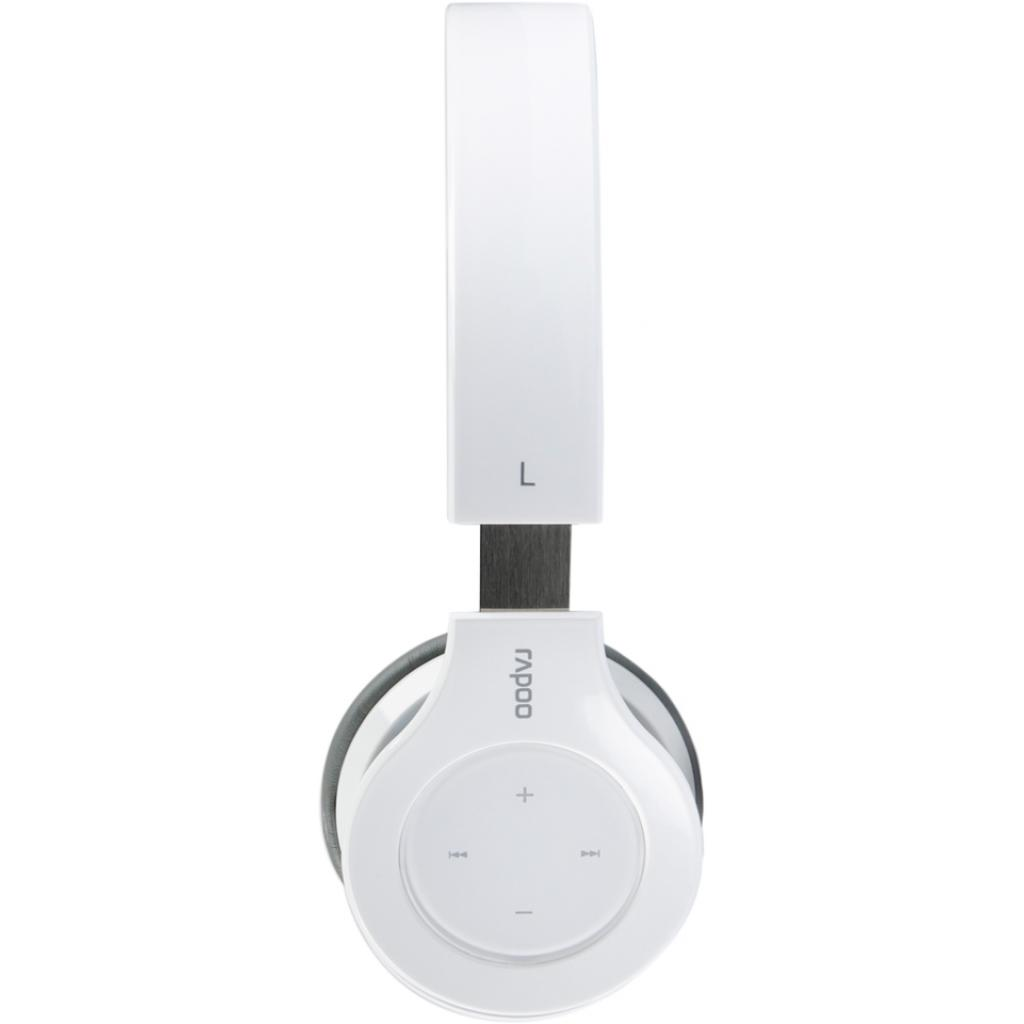 Наушники Rapoo H6060 White bluetooth (H6060 White) изображение 2