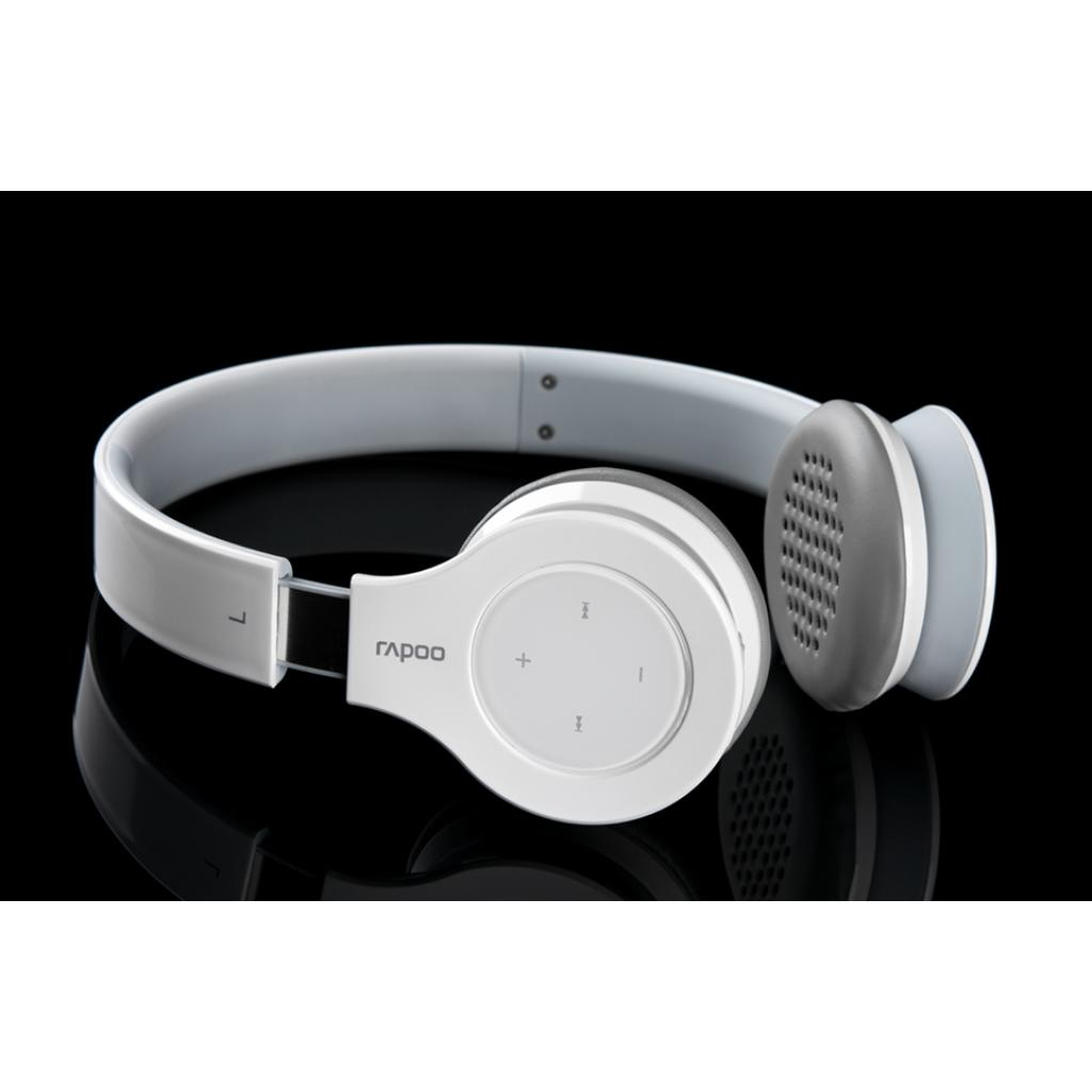 Наушники Rapoo H6060 White bluetooth (H6060 White) изображение 5