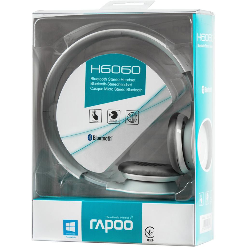 Наушники Rapoo H6060 White bluetooth (H6060 White) изображение 6