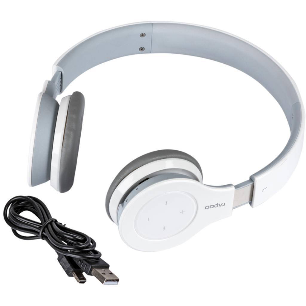 Наушники Rapoo H6060 White bluetooth (H6060 White)