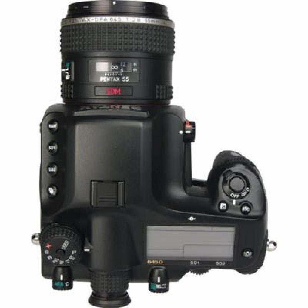 Цифровой фотоаппарат Pentax 645D + 55mm (1797200) изображение 3