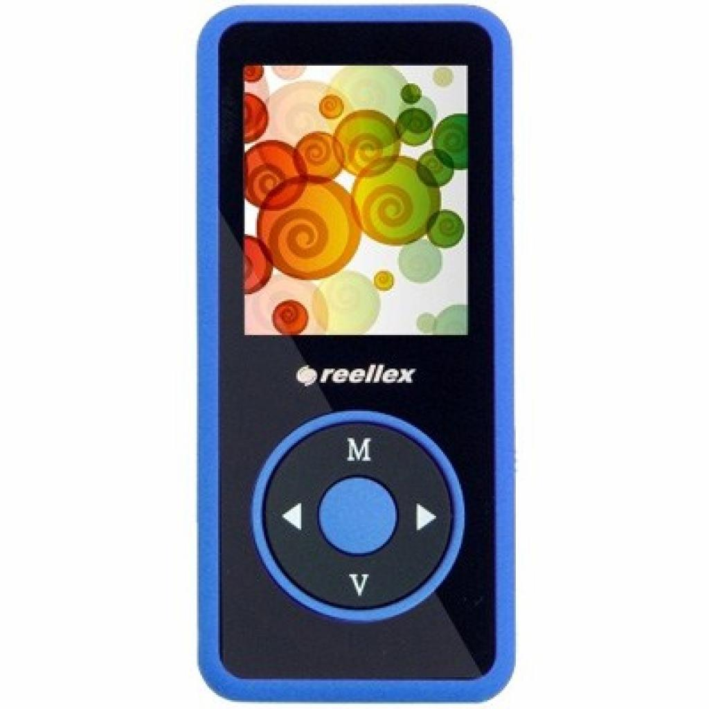 mp3 плеер Reellex UP-48 4GB Black/Blue (UP-48 Black/Blue)
