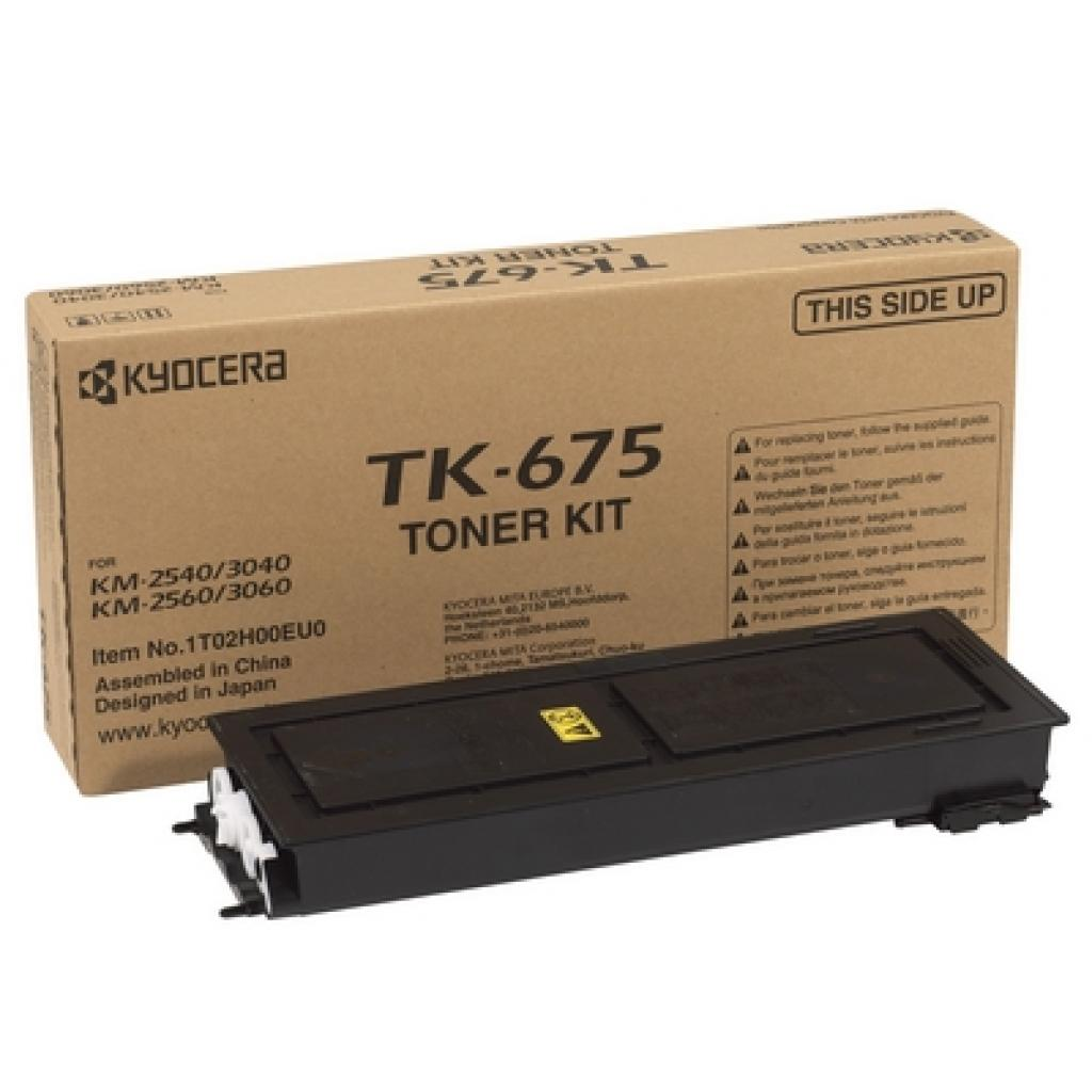 Тонер-картридж Kyocera TK-675 для KM-2540/3040/2560/3060 20К (1T02H00EU0)