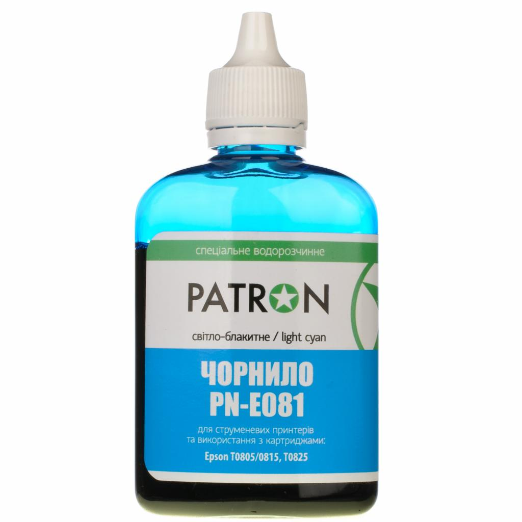 Чернила PATRON EPSON R220/90г LIGHT CYAN/T0485/PN-E048-306 (I-PN-ET0485-090-LC) изображение 2