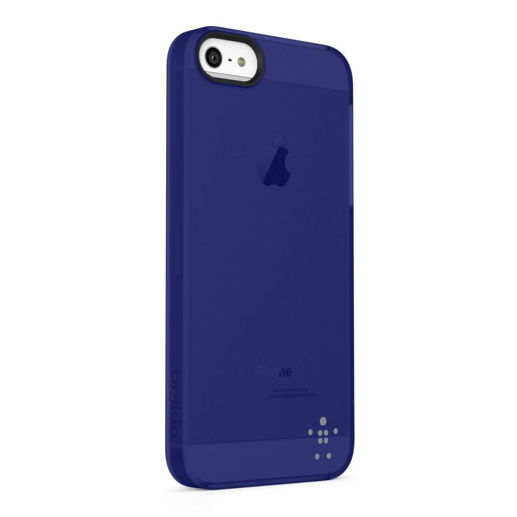 Чехол для моб. телефона Belkin iPhone 5/5s Shield Sheer Luxe/blue (F8W162vfC03) изображение 2