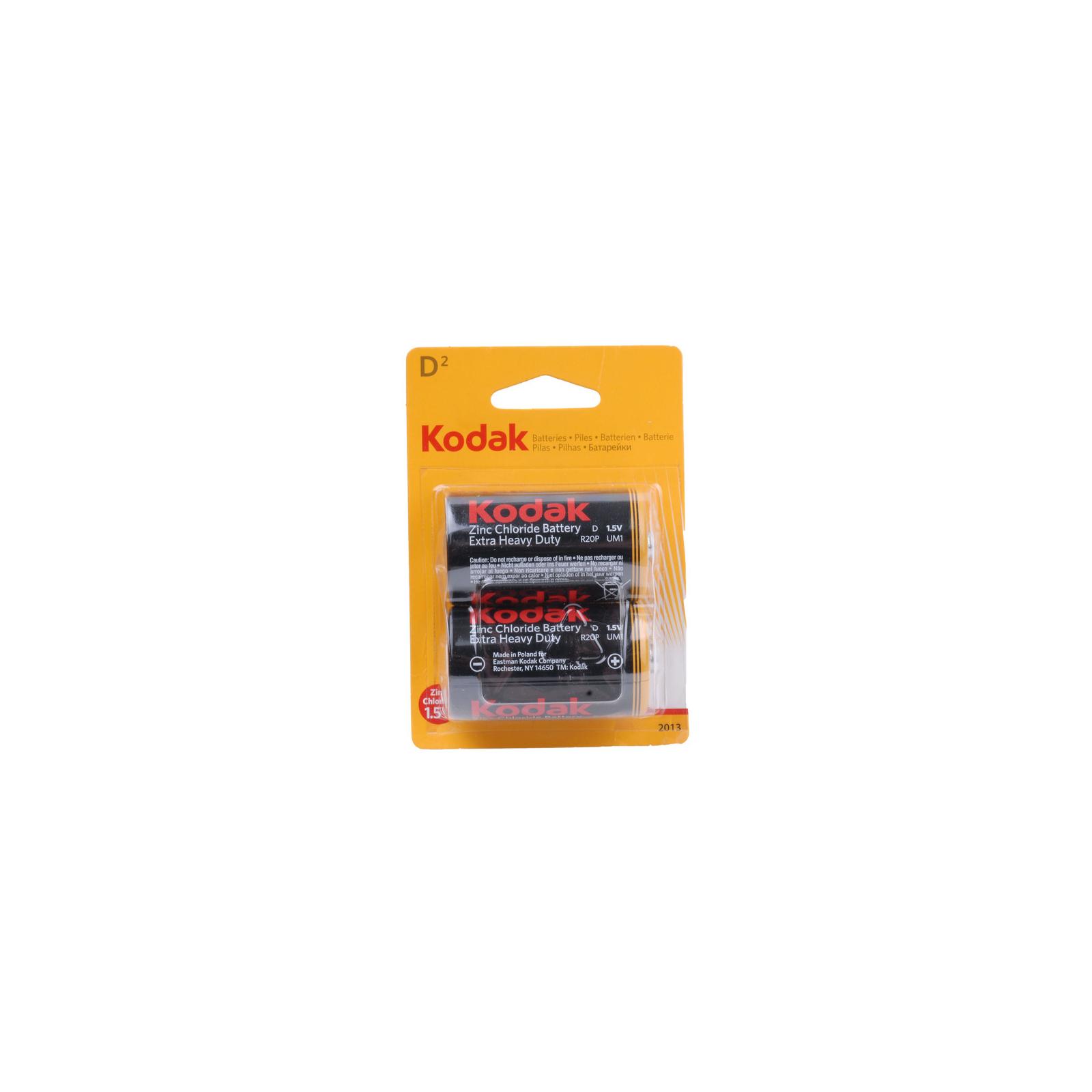 Батарейка Kodak R20 KODAK LongLife * 2 (30946385)