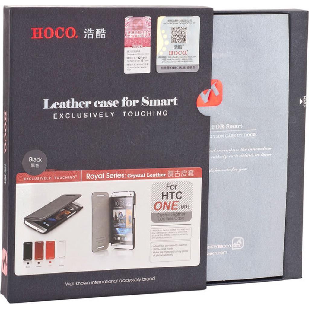 Чехол для моб. телефона HOCO для HTC ONE /Crystal (HT-L007 Black) изображение 8
