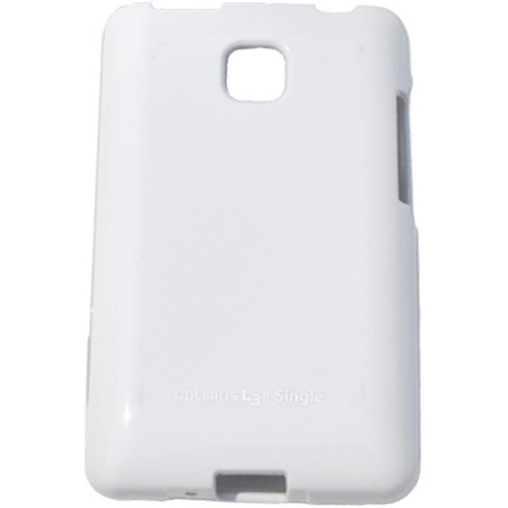 Чехол для моб. телефона VOIA для LG E425 Optimus L3II /Jelly/White (6068158)
