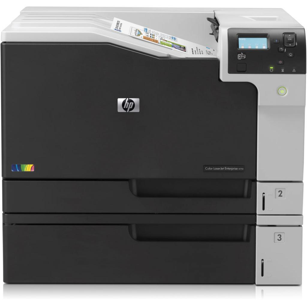 Лазерный принтер HP Color LaserJet Enterprise M750dn (D3L09A) изображение 2