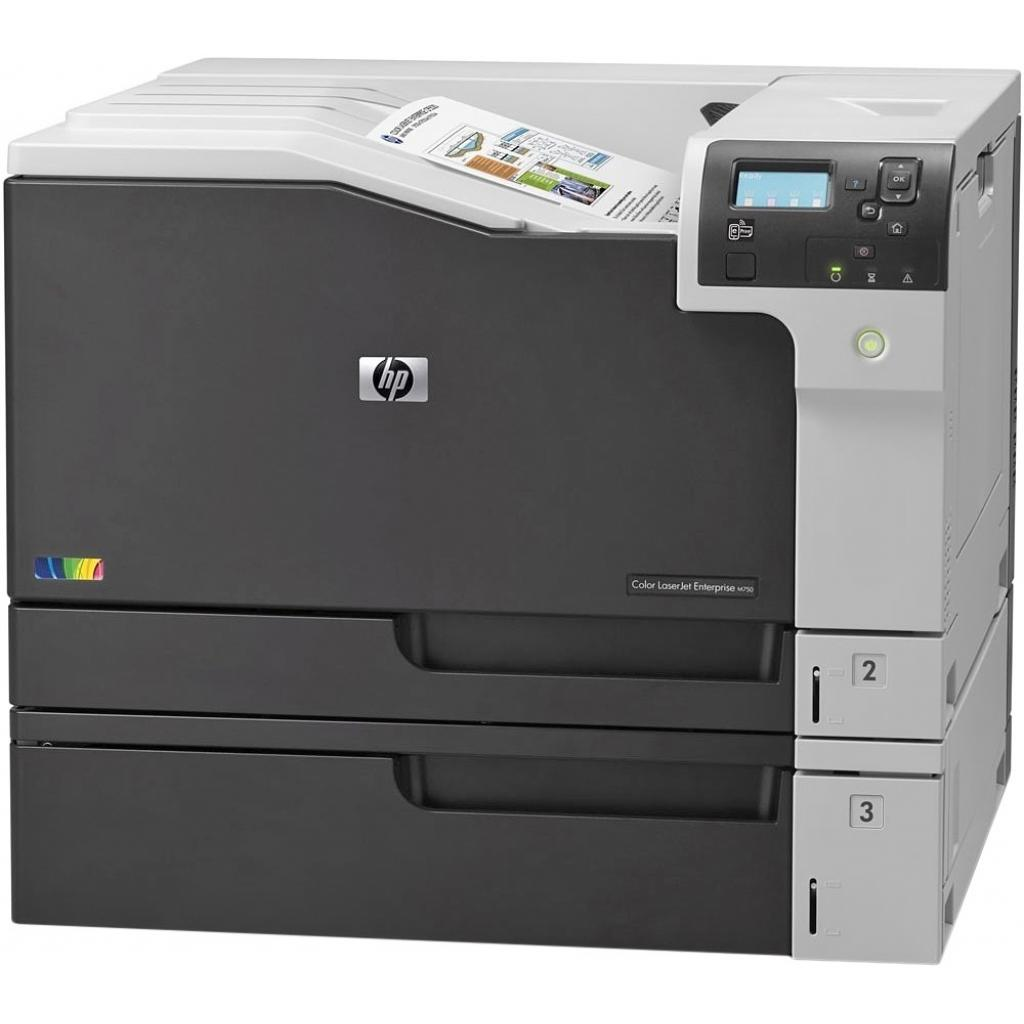 Лазерный принтер HP Color LaserJet Enterprise M750dn (D3L09A) изображение 3