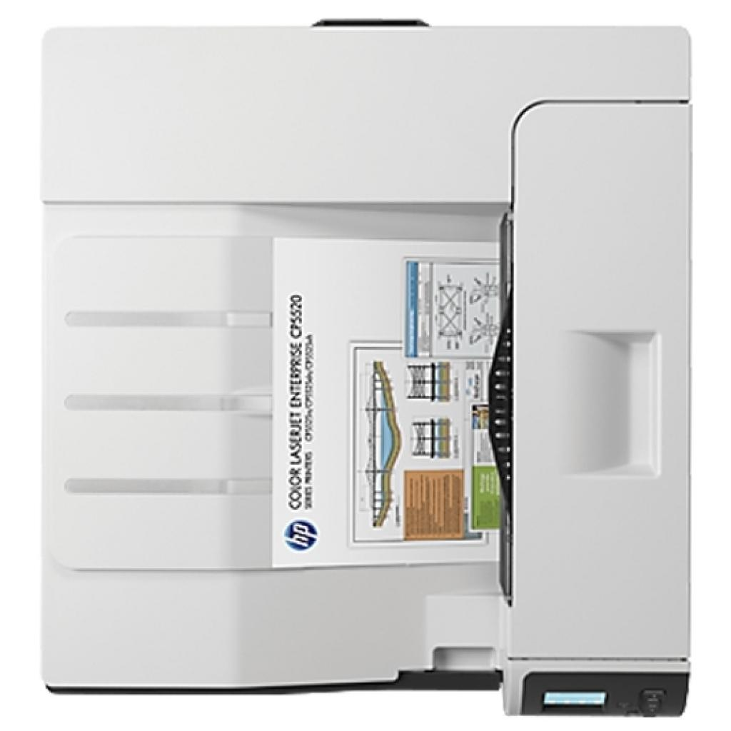 Лазерный принтер HP Color LaserJet Enterprise M750dn (D3L09A) изображение 4