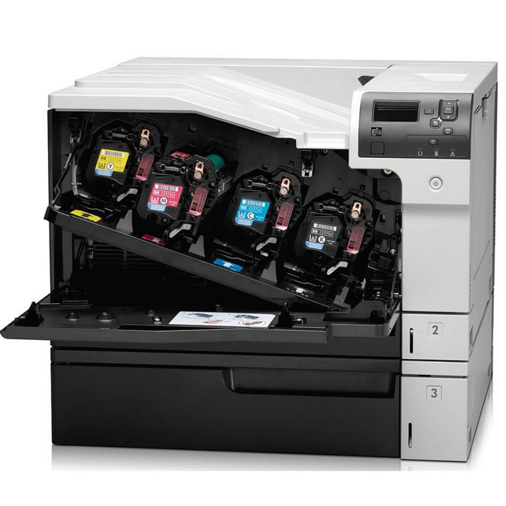 Лазерный принтер HP Color LaserJet Enterprise M750dn (D3L09A) изображение 6