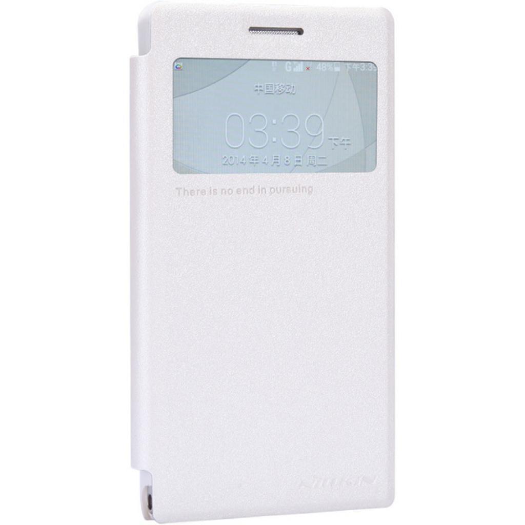 Чехол для моб. телефона NILLKIN для Huawei G6 /Spark/ Leather/White (6147109) изображение 2