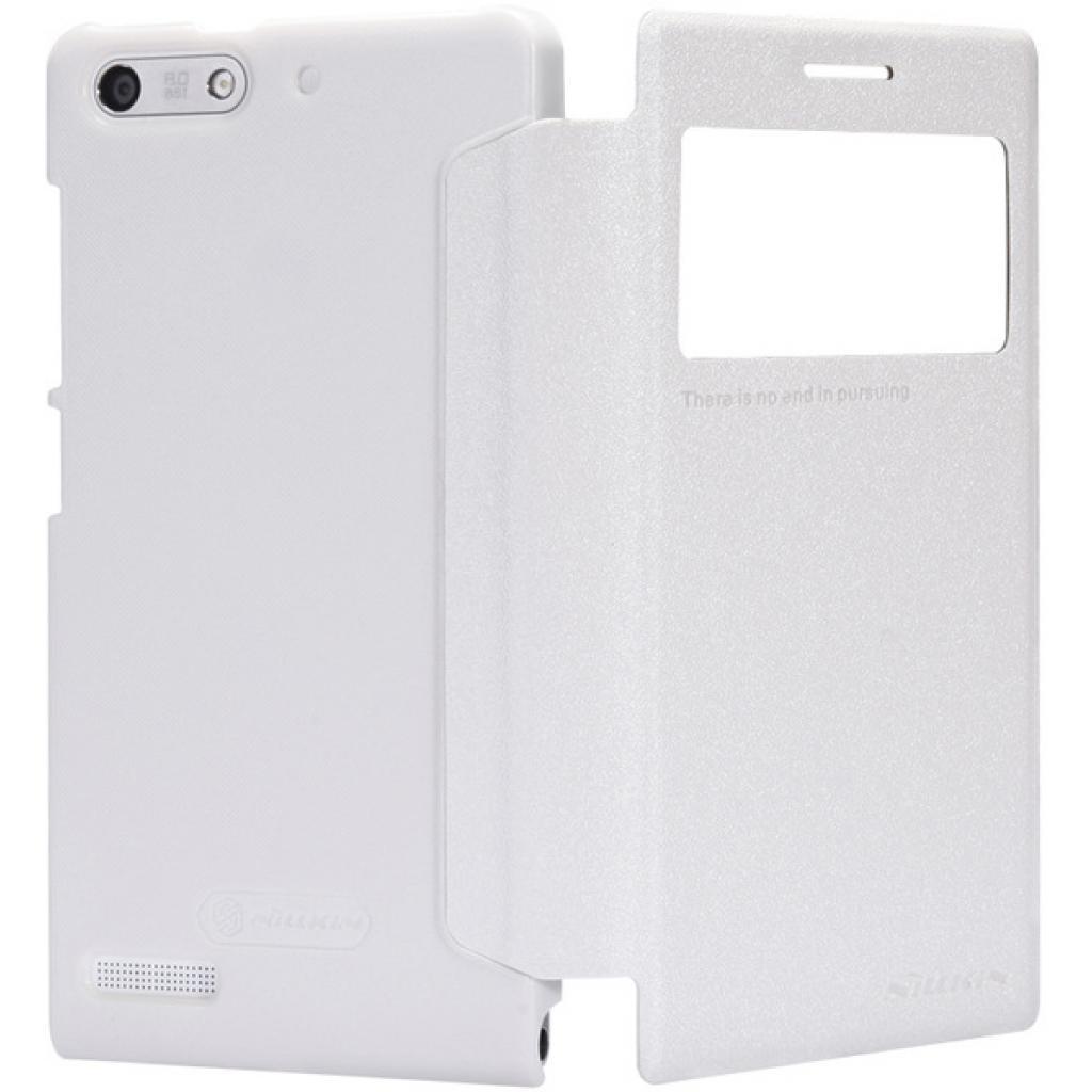Чехол для моб. телефона NILLKIN для Huawei G6 /Spark/ Leather/White (6147109) изображение 3