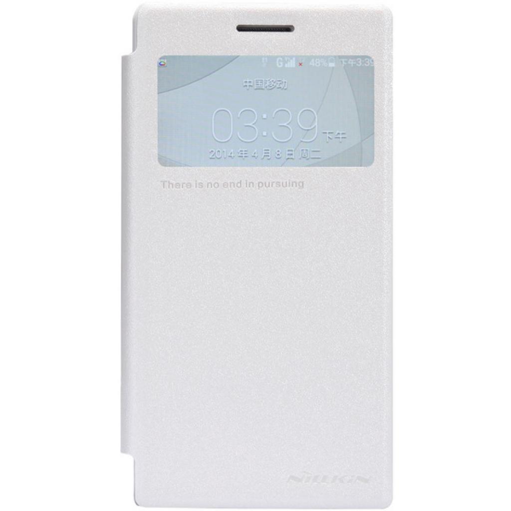Чехол для моб. телефона NILLKIN для Huawei G6 /Spark/ Leather/White (6147109)