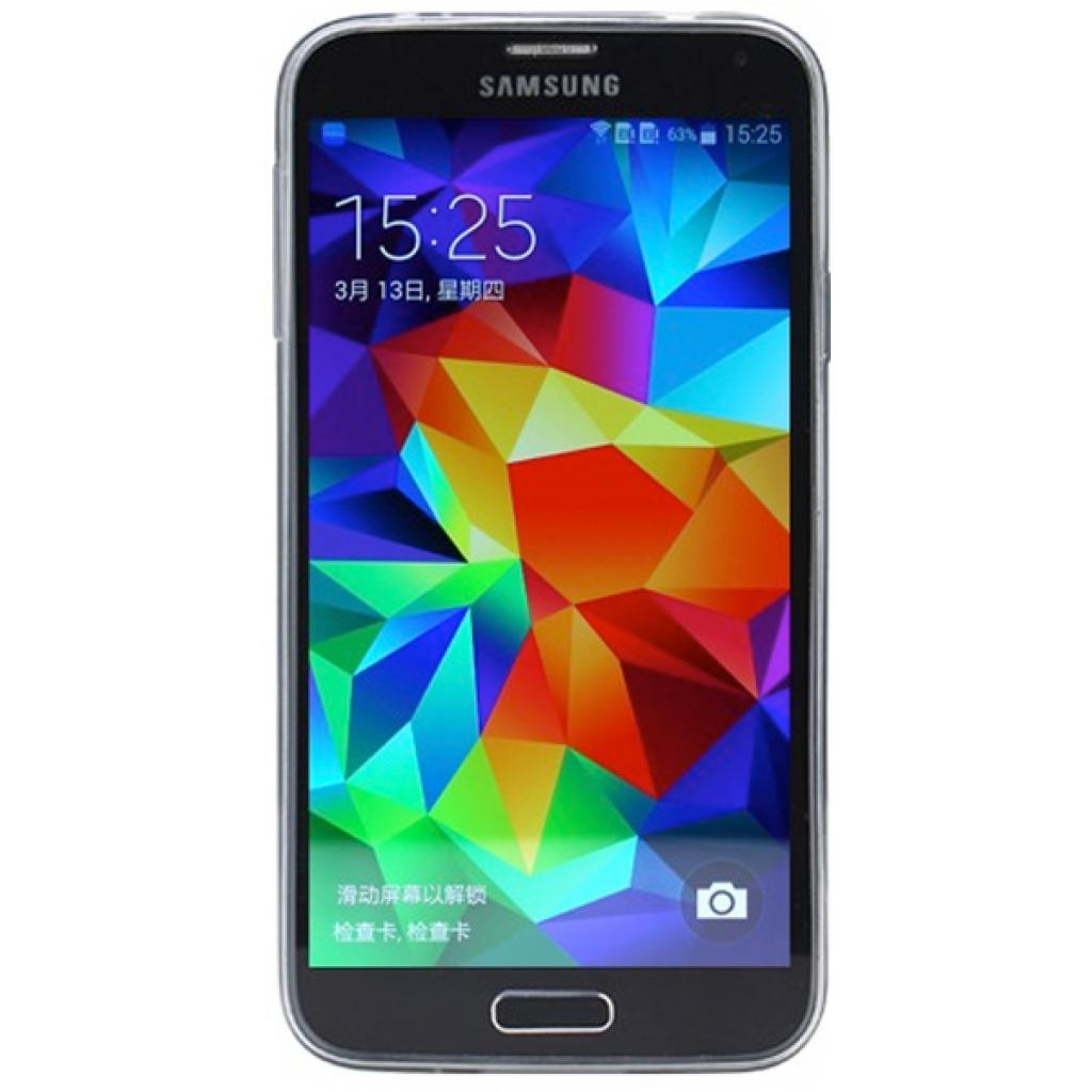 Чехол для моб. телефона Rock Samsung Galaxy S5 ultrathin TPU Slim Jacket trans-black (S5-63550) изображение 2