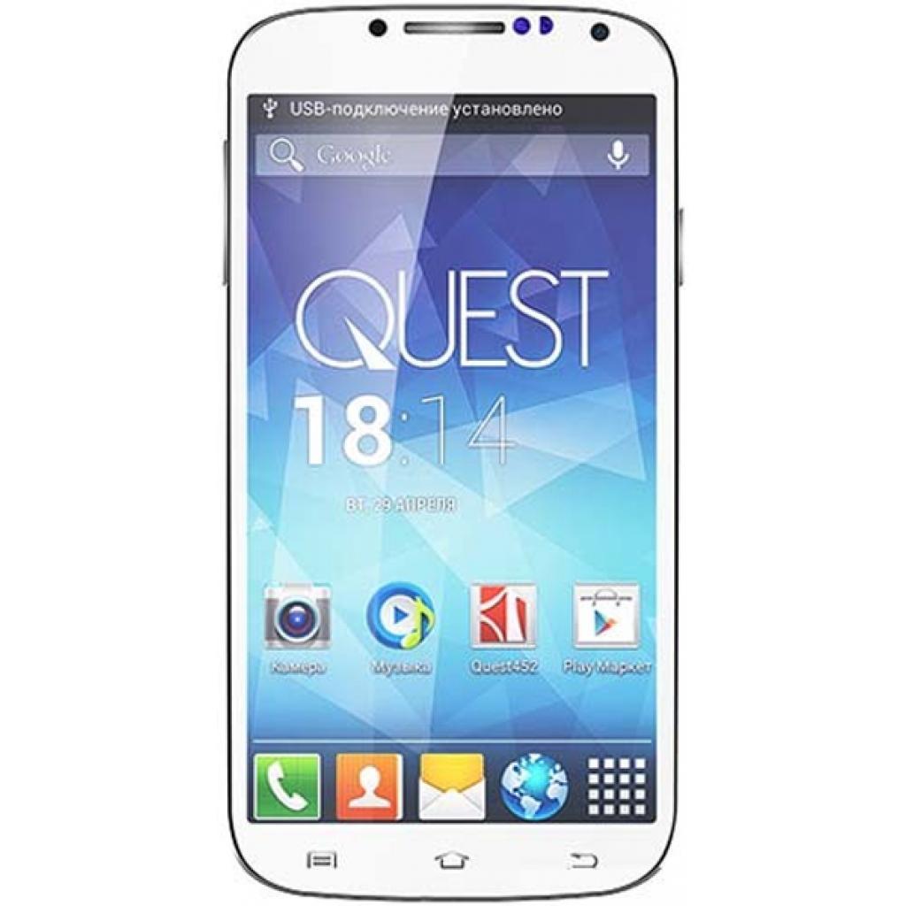Мобильный телефон Qumo QUEST 503 IPS White (6909723197582)