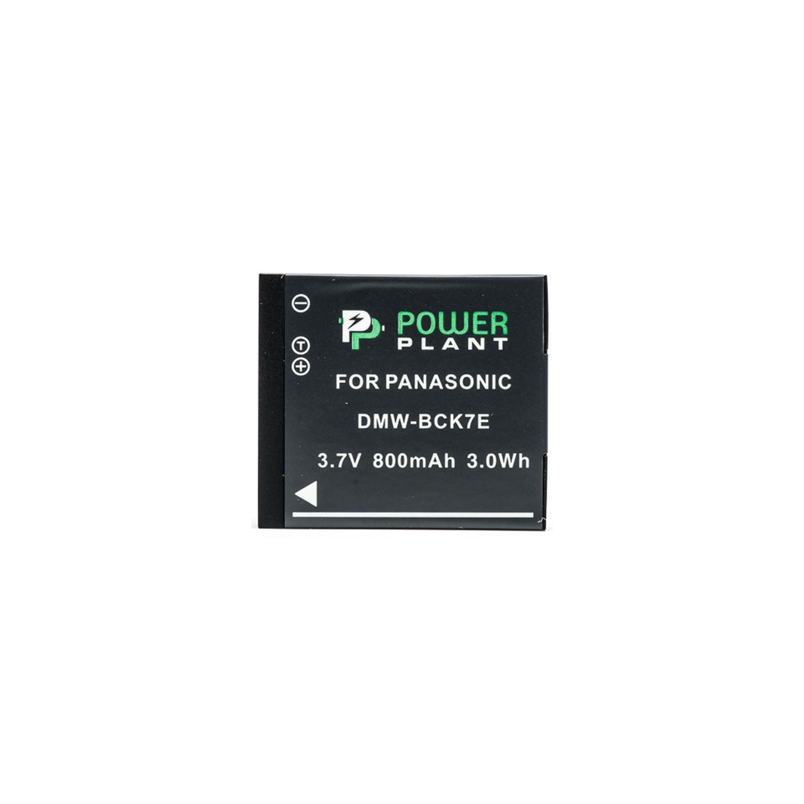 Аккумулятор к фото/видео PowerPlant Panasonic DMW-BCK7E (DV00DV1301) изображение 2