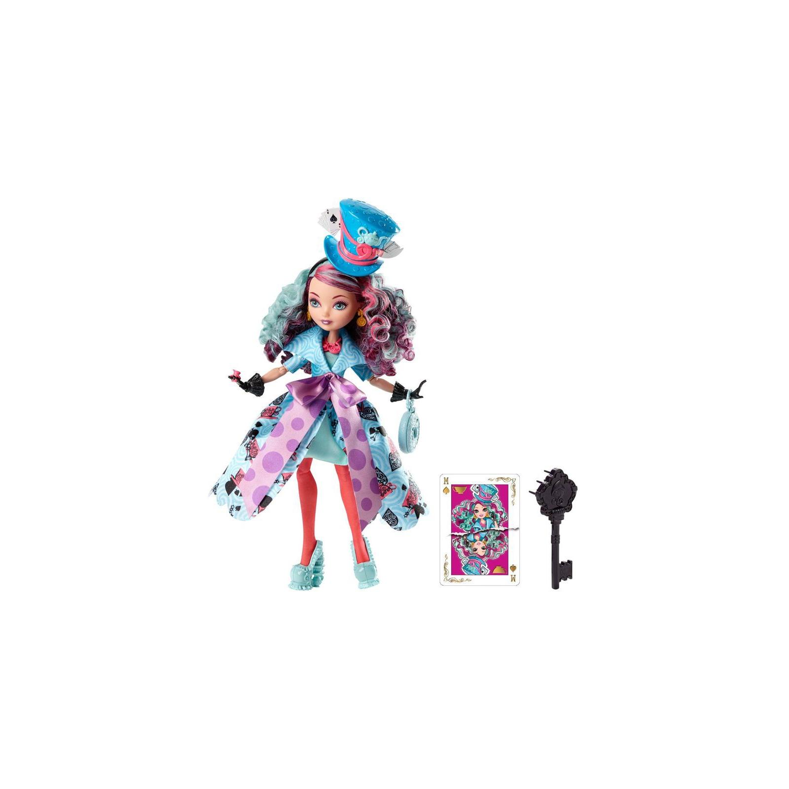 Кукла Mattel Ever After High Дочь Безумного Шляпника (CJF39-4) изображение 2