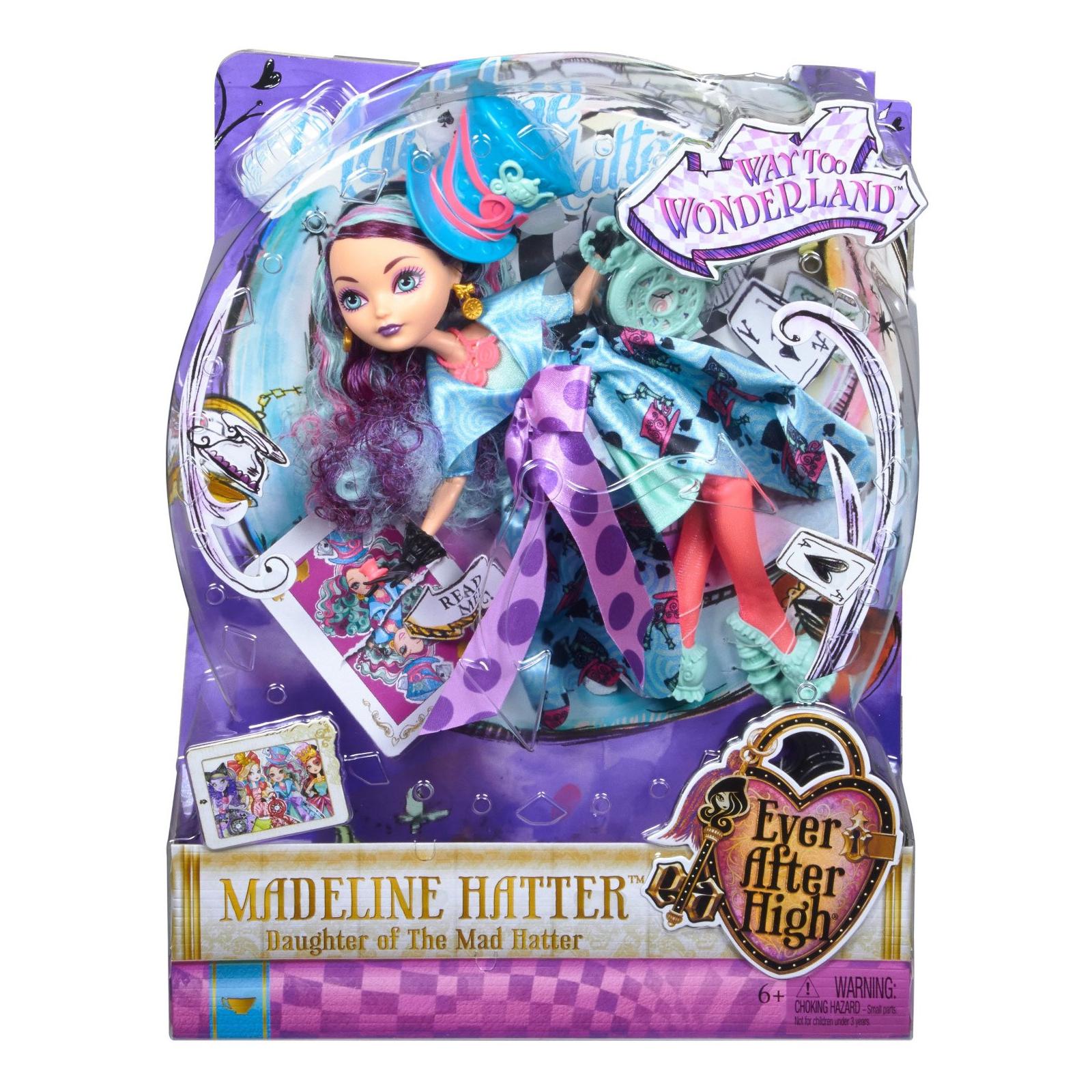 Кукла Mattel Ever After High Дочь Безумного Шляпника (CJF39-4) изображение 4